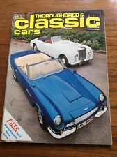Vintage Magazine Thouroughbred & Classic Cars  Film Prop  Car Showroom Nov 1976