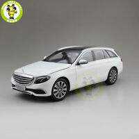 1/18 iScale Mercedes Benz E Class Klasse WAGON Diecast Model Car Gift White