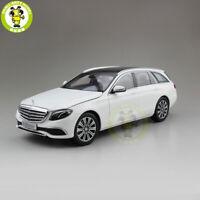1/18 iScale Benz E Class Klasse WAGON Diecast Model Car Gift White