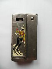 IMCO 6800 COLOR  with pictures Old Lighter Austria Skier Figure skater