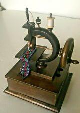 "Wood sewing machein music box - song ""My Way"" # 10-3-2"