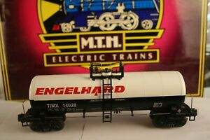 O Scale 20-92013 MTH Engelhard Chemical Tank Car # TIMX 14028