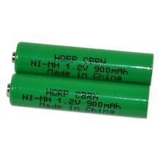 2-Pack HQRP Battery for Panasonic KX-TG6572, KX-TG6572R, KX-TG6582, KX-TG6582T