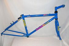 Vintage KHS Montana Descent steel mountain bike frame fork mtb team xc suntour