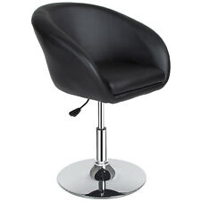 Sillón taburete de bar giratorio silla de la barra diseño regulable negro