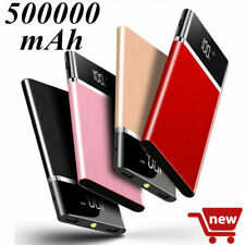 2019 New Power Bank 500000mAh External Battery Charger LED LCD Backup Battery