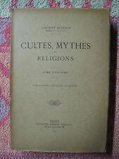 Salomon Reinach : Cultes, mythes et religion, tome 5
