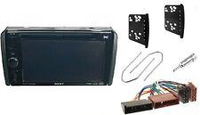 Einbaurahmen + Adapter in FORD Transit Mondeo für Autoradio 2DIN Radioblende