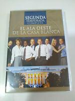 El Aile Ouest de La Maison Blanche Deuxième Saison 2 - 6 X DVD Espagnol English