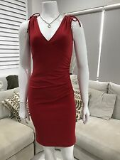Super Cute Women's Cooper St Bandage Dress Size 8 Red Very Comfy And Flattering