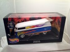Hot Wheels Collectibles Customized Vw Bus 1:18 Die Cast New In Box
