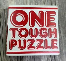 Vintage One Tough Puzzle Board Game Puzzles 1984 Complete