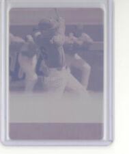 Jonathan India 1/1 magenta printing plate card 2018 Leaf Ultimate 1991 NM Reds