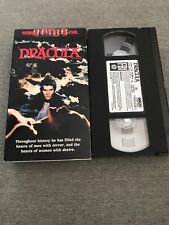 THRILLERS DRACULA VHS MOVIE 1979