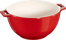 STAUB Céramique Bol de salade COUPE POUR FRUITS SALADIER cerise 18 cm