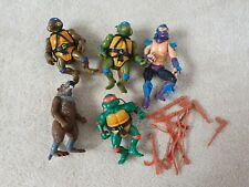Teenage Mutant Ninja Turtles Figures 1988 and Accessories