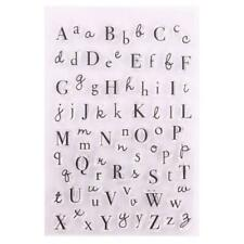 Alphabet Silicone Clear Seal Stamp DIY Scrapbooking Embossing Photo Album New