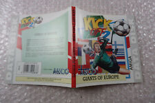 Amiga Kick Off 2 Giants of Europe Case inlay