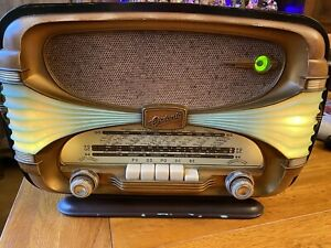Ancien Poste Radio OCEANIC Surcouf Tube Vintage / Old Radio Design