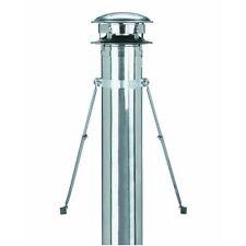 "8"" Galv SSII Chimney Flue Stove Heat Pipe Roof Brace Kit 8T-RBK"
