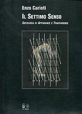 ENZO CARIOTI IL SETTIMO SENSO ANTOLOGIA DI APPARENZE E TRASPARENZE 1a ed.