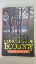 Concepts of ecology 3rd Edition by Edward John Kormondy  (Author)-1984