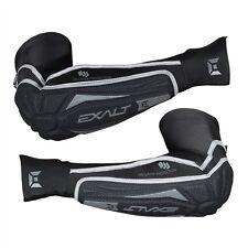 Exalt T3 Elbow Pads Black/Grey - Medium / Large - Paintball