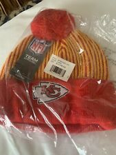 Kansas City Chiefs boys beanie hat cap new NFL red youth