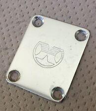 1978 Hondo 830 Deluxe Bass Guitar Original Hondo Logo Neck Plate