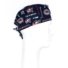 Nhl Columbus Blue Jackets theme Scrub Hat