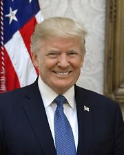 8x10 Official Portrait of President Donald J. Trump-Official White House Photo