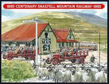 ISLE OF MAN 1995 Snaefell Mountain Railway Centenary MS/SS MNH @J634