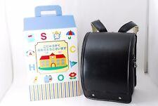 Randoseru Japanese school backpack school bag Black From Japan