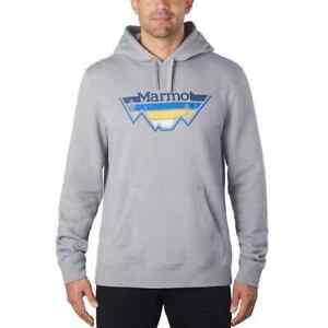 Marmot Men's Hoodie Gray NWT Size XL