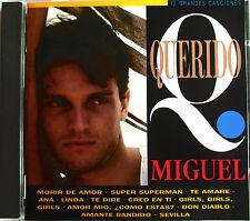 """MIGUEL BOSÉ - CD """"QUERIDO"""""""