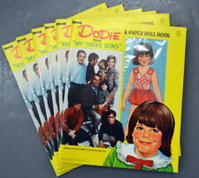 Vintage 1971 DODIE - MY THREE SONS Artcraft PAPER DOLL BOOK - UNPUNCHED NOS