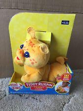 Teddy Ruxpin Hug 'N Sin 00004000 g Grubby New