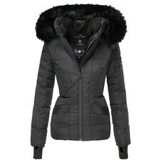 Navahoo Damen Warm Winter Jacke Parka Winter mantel ADELE Steppjacke gefüttert