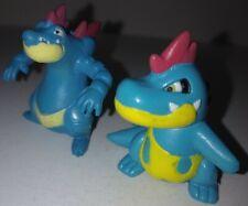 Vintage Pokemon Croconaw & Feraligatr Figures Tomy Nintendo