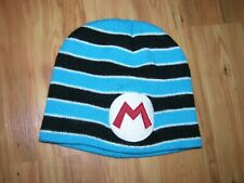 Minions Despicable Me Beanie Hat Blue Black & White