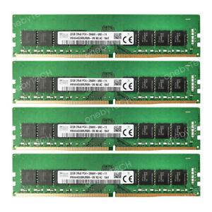 For Hynix 128GB 4x32GB 2RX8 PC4-21300 DDR4-2666 Mhz NON ECC udimm Desktop Memory