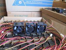 Quiet! Dell PowerConnect 5448 Fan Kit (H969F) 3x Sunon Fans 18dBA Noise each