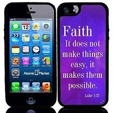 Religious Faith Scripture For Iphone 6 Case Cover