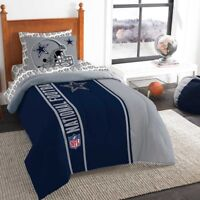 New 5pc NFL Dallas Cowboys Bedding Set Comforter Pillowcase Sheet Set Twin Size