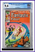 Fantastic Four Official Marvel Index #9 CGC Graded 9.4 Marvel 1986 Comic Book.