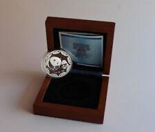 2012 PHILADELPHIA ANA 1 oz Panda Medal Silver Coin Box & Coa