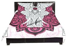 Indian Duvet Doona Cover Urban Elephant Mandala Comforter Queen Quilt Cover Set