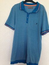 Blue Inc Mens Turquoise TShirt Size M