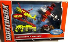Matchbox Mission Force Fire Crew NEW 'Sullys Hobbies'