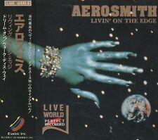 AEROSMITH - LIVIN' ON THE EDG. JAPAN